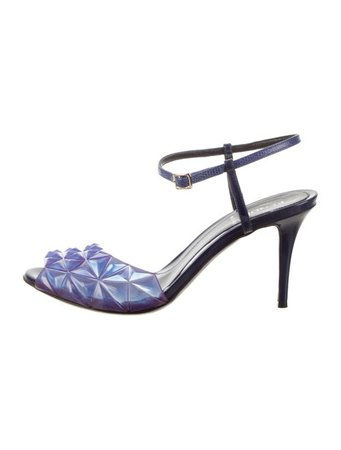 Fendi PVC Slingback Sandals - Shoes - FEN103172 | The RealReal
