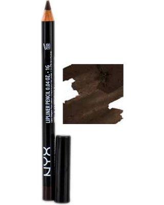 nyx-slim-lip-liner-pencil-dark-brown-slp-818 - Kala Riggins