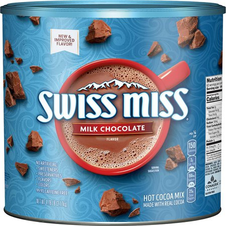 Swiss Miss Milk Chocolate Flavor Hot Cocoa Mix, 4.7 Lbs. - BJs WholeSale Club
