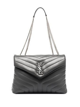 Saint Laurent Medium Loulou Leather Shoulder Bag - Farfetch