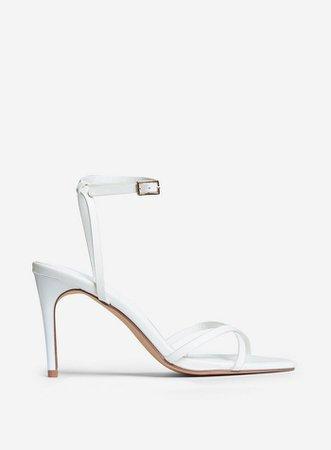 White Safira Strappy Sandal   Dorothy Perkins