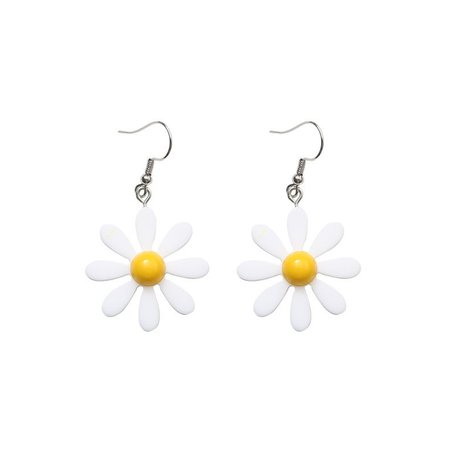 Kokyu Acrylic Flower Dangling Earrings | YesStyle