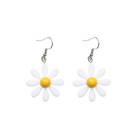Kokyu Acrylic Flower Dangling Earrings | YesStyle