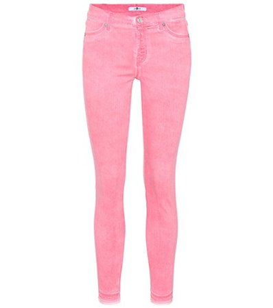 The Skinny Crop unrolled jeans