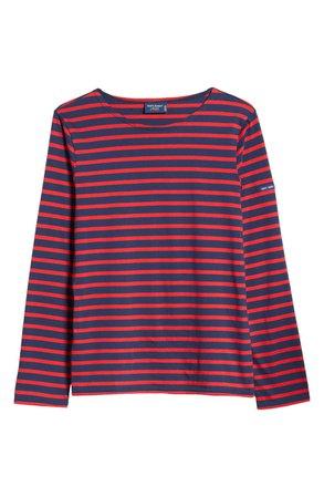 Saint James Minquiers Moderne Striped Sailor Shirt | Nordstrom