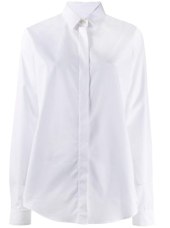 Saint Laurent Classic Cotton Shirt Aw19 | Farfetch.Com