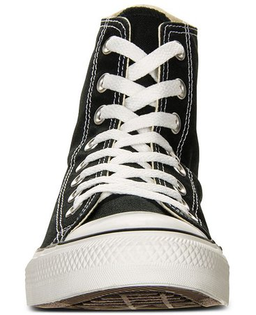 Converse Men's Chuck Taylor Hi Top Casual Sneakers from Finish Line Black Converse men's sneakers 1964272 [VYGMFXQ] - $57.37