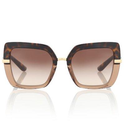 Leopard-Printed Sunglasses - Dolce & Gabbana   mytheresa.com