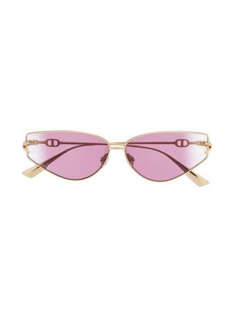 Dior Eyewear DiorGipsy2 cat-eye sunglasses gold DIORGIPSY2 - Farfetch