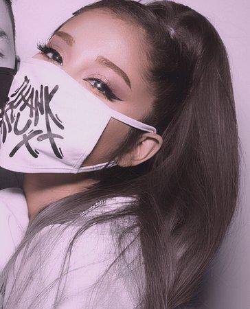 ari with face mask