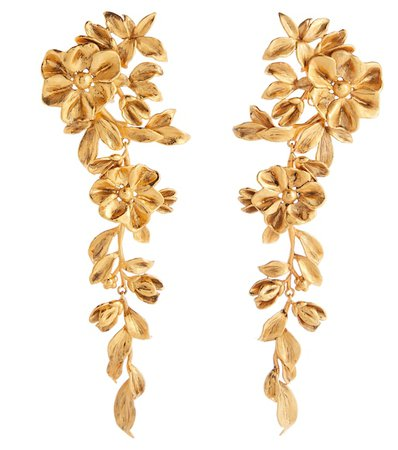 Saint Laurent - Floral earrings | Mytheresa