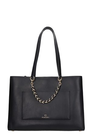 MICHAEL Michael Kors Tote In Black Leather