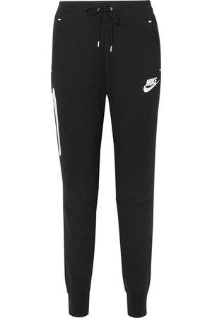 Nike | Cotton-blend Tech Fleece track pants | NET-A-PORTER.COM