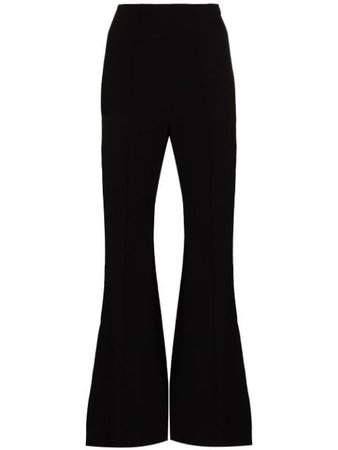 Low Classic high-waist Flared Trousers - Farfetch