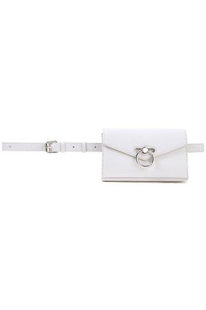 Light gray Pebbled-leather belt bag | REBECCA MINKOFF