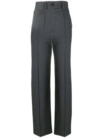 Shop See by Chloé high-waisted tailored trousers with Express Delivery - Farfetch