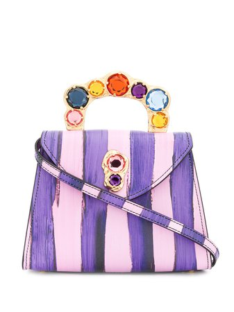 Moschino Jewel Closure Handbag - Farfetch