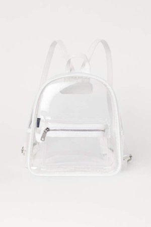 Small Backpack - White