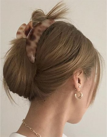 hair pinup with clip