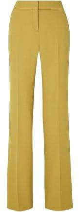Wool-crepe Wide-leg Pants