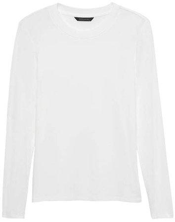 Soft Stretch Crew-Neck T-Shirt