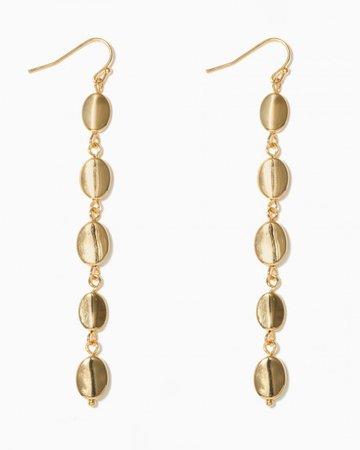 Gold Shell Earrings