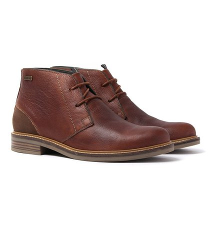 Barbour Readhead Chestnut Leather Chukka Boots Just Buy It Barbour Men