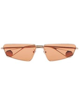 Gucci Eyewear angled frame sunglasses - Fast Global Shipping, Free Returns