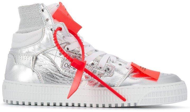Metallic 3.0 Offcourt Sneaker Silver Sil