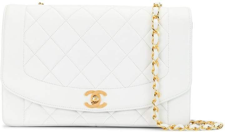 Chanel Pre Owned quilted Diana shoulder bag