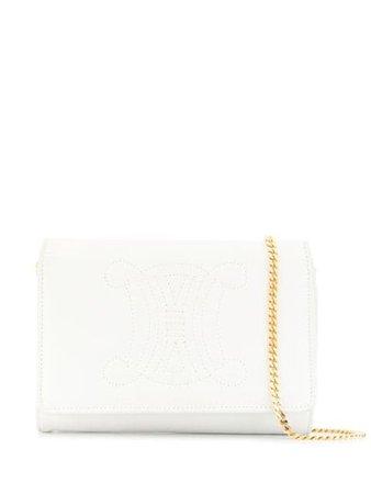 Céline Pre-Owned Macadam Stitch Chain Bag - Farfetch