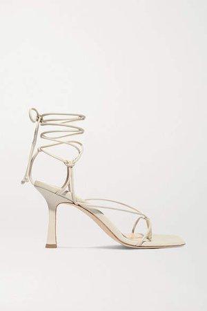 Sweden Leather Sandals - Cream