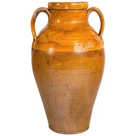 Vintage Terracotta Garden Urn, Italy | Chairish