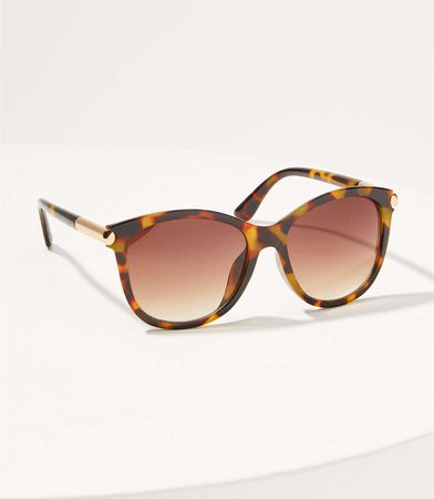 Squared Cateye Sunglasses | LOFT