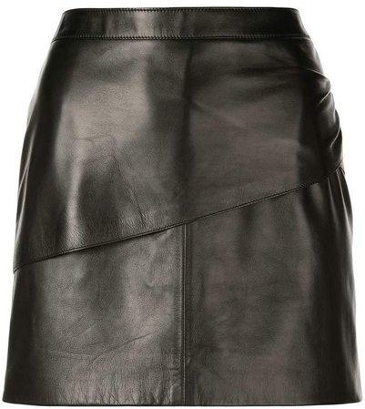 mini leather skirt