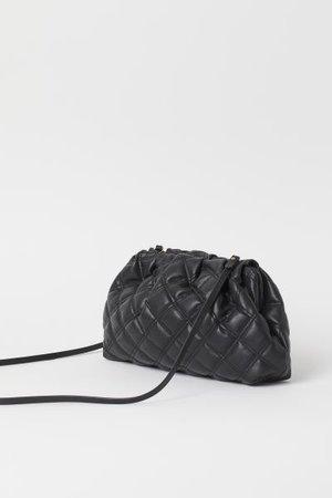 Quilted Shoulder Bag - Black - Ladies | H&M US