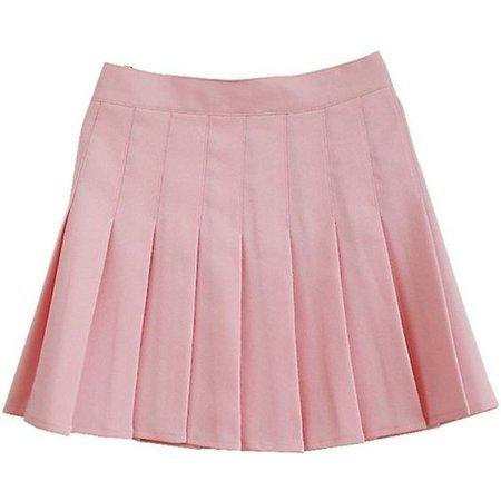 Pink School Skirt