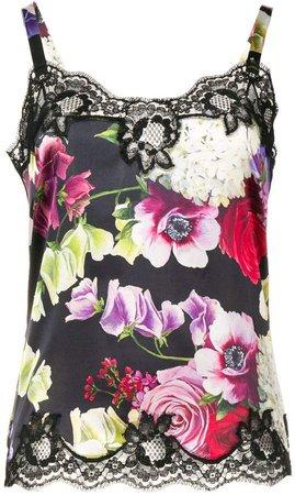 Floral Print Camisole Vest
