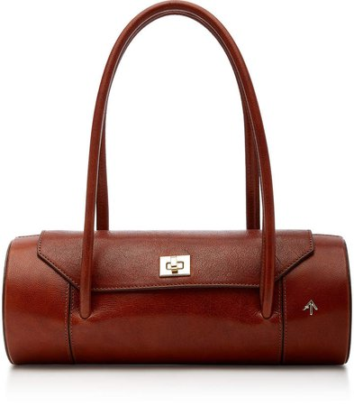 Manu London Leather Shoulder Bag