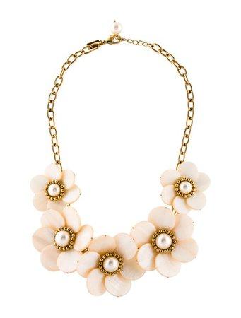 Kate Spade New York Garden Party Floral Necklace - Necklaces - WKA105485   The RealReal