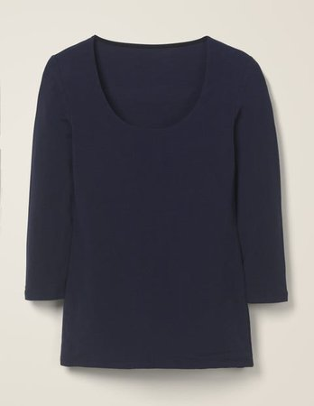 Double Layer Front Top - Navy