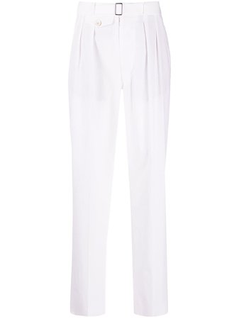 Maison Margiela Tailored straight-leg Trousers - Farfetch