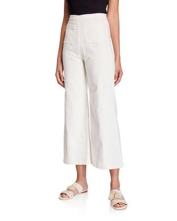 Faithfull the Brand Tove Corduroy Pants | Neiman Marcus