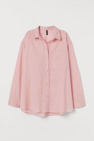 Cotton Shirt - Pink