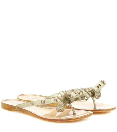 Valentino Garavani Rockstud PVC sandals