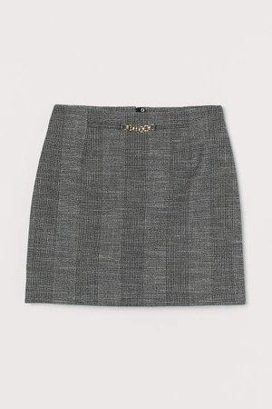 Short Skirt - Gray