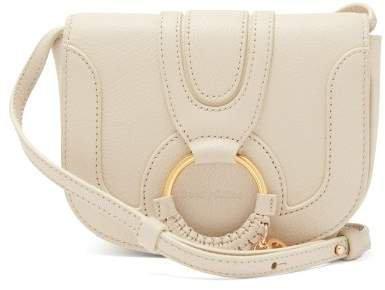 Hana Mini Suede Cross Body Bag - Womens - Cream
