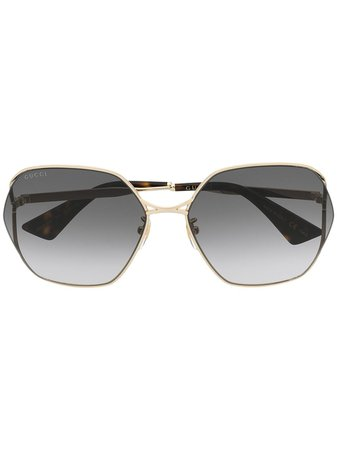 Gucci Eyewear, Oval sunglasses