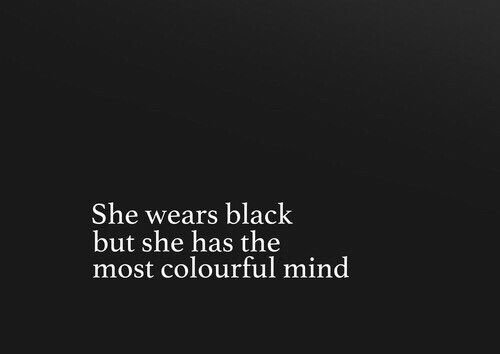 Thinks in color, dresses in black || see more black and white at https://weheartit.com/colorgala/collections/134003765-black-and-white-power