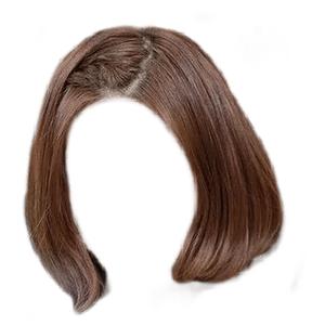 short brown hair png bob